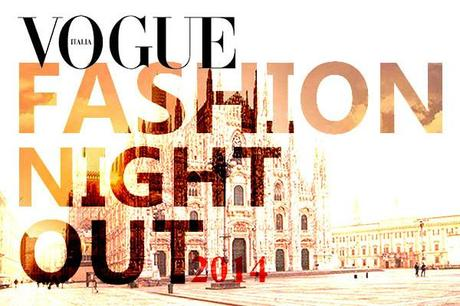Vogue Fashion Night out 2014 a Milano