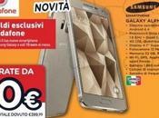 Promozione Samsung Galaxy Alpha disponibile Unieuro euro (con abbonamento Vodafone)