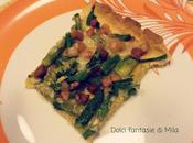 Torta salata asparagi pancetta