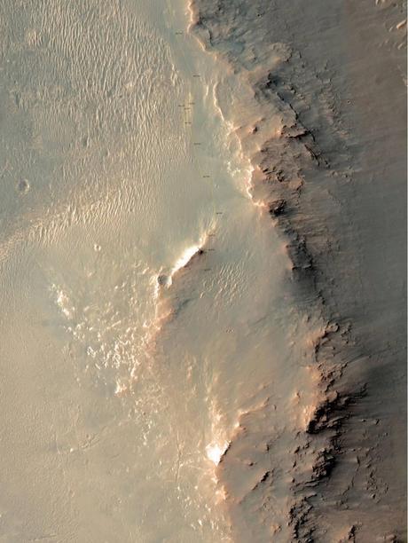 MERB Sol 3757 map