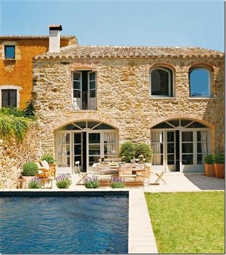 Casa colonica ristrutturata in spagna paperblog for Interni casa campagna