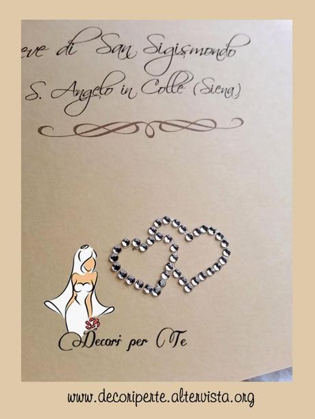 Libretto Messa Matrimonio Country Chic : Libretti messa quot country chic crystals hearts paper