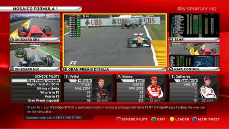 F1 Singapore 2014 | Qualifiche (diretta tv Sky Sport F1 HD e Rai 2 / HD)
