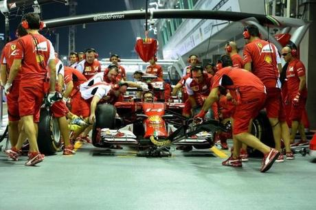 F1 Singapore 2014  Qualifiche (diretta tv Sky Sport F1 / HD e Rai 2 / HD)