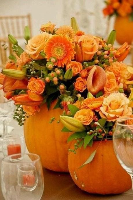 Famoso Allestimenti per un matrimonio d'autunno - Paperblog OH61