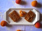 Barrette cacao nocciole marmellata albicocche Cocoa hazelnuts slice with apricot