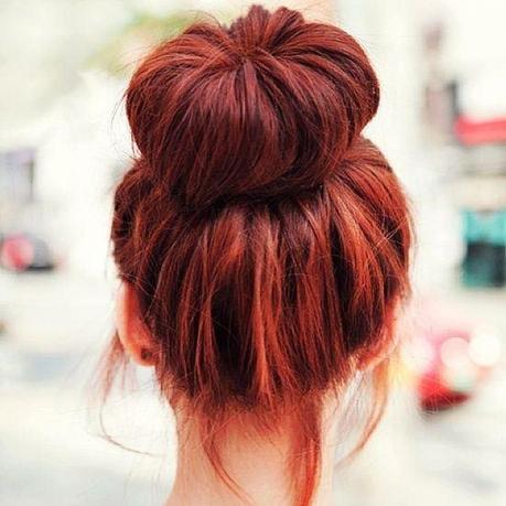 red-hair-bun