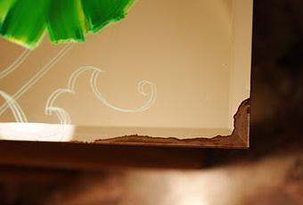 Recuperare uno specchio rovinato paperblog for Specchio antico rovinato