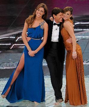 quality design e902d 816b0 Sanremo 2011: 2° serata - Canalis in Emilio Pucci, Rodriguez ...