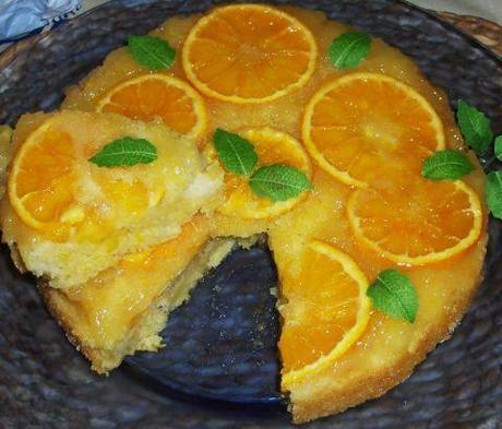 Torta di arance & mele