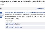 """Facebook: giallo piace"""" """"commenta"""""""