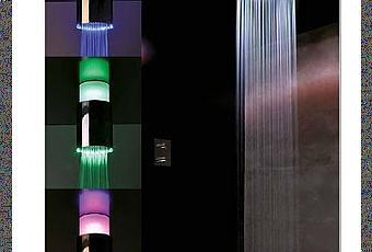 Le lampade per doccia sandwich disegnate da gianluigi - Lampade per doccia ...