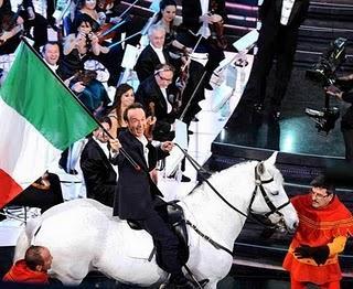 San Remo 2011, indottrinamento mediatico sull'unità d'Italia e non solo