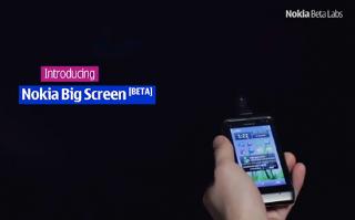 Nokia Big Screen versione 0.99