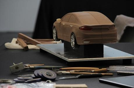 Clay-modelling-Ford