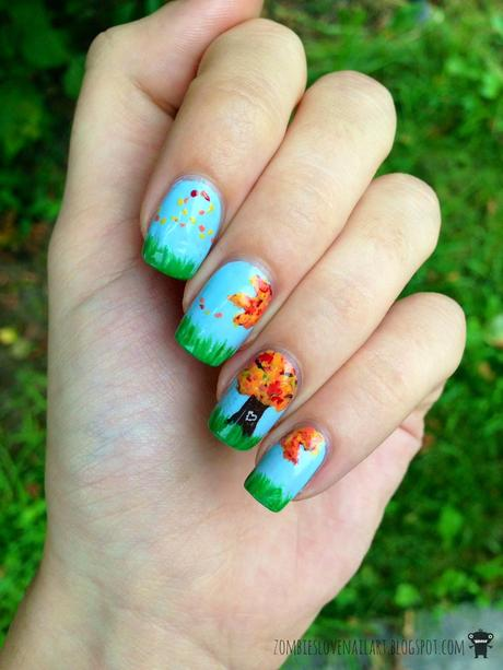 Dancing in September #5: Sara from Zombies love Nailart