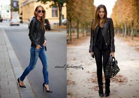 the best attitude cd99e f558c Trend giacche in pelle da donna A/I 2014 2015: 10 modelli ...