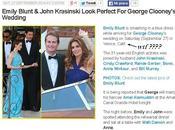 Clooney nozze Venezia Just Jared scambia California)