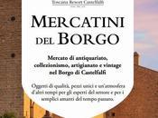Mercatino Borgo Castelfalfi Market inside village