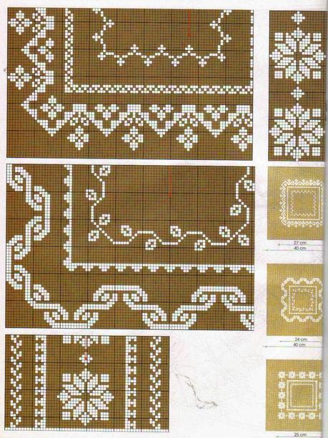 Pinterest punto croce monocolore natale wroc awski for Schemi di cabina di log