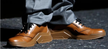 Focus on: Prada's architectural sneakers f/w 14-15.