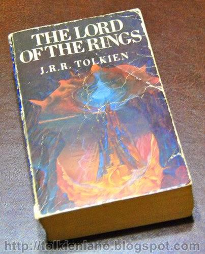 The Lord of the Rings, edizione inglese illustrata e firmata da Roger Garland