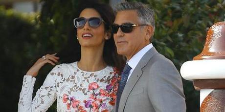 George Clooney matrimonio 2014
