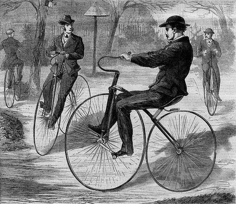 Daisy Daisy, Give me your answer do ! - Riding a bicycle in history.