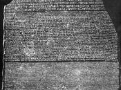 Champollion, geroglifici Stele Rosetta.