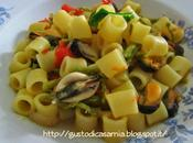 Pasta cozze asparagi