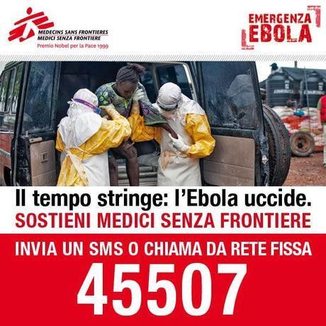 Agiamo ora per fermare la peggiore epidemia di sempre. #StopEbola