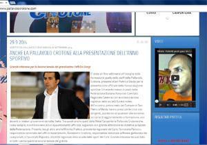 Nuovo look per il sito web della Pallavolo Crotone