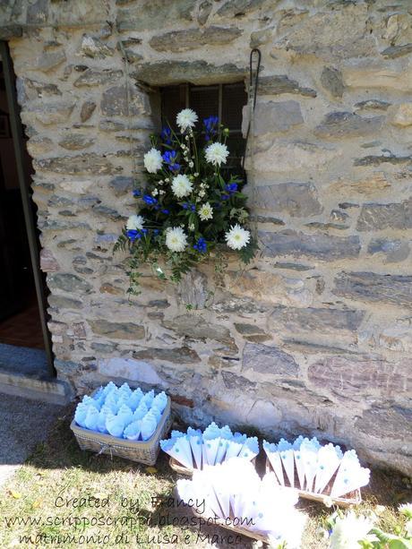 Coni porta riso bomboniere per matrimonio paperblog - Porta riso matrimonio ...