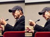 Domenica settembre 2014: incontro Steve Reich nella Sala delle Colonne Palazzo Giustinian, Venezia