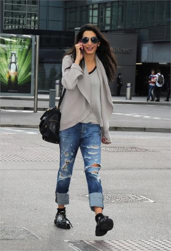 Amal Alamuddin (Mrs Clooney): una nuova icona di stile ... джозеф гордон левитт