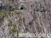 Uinaschlucht, sentiero tagliato nella roccia