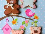 biscotti decorati festeggiare nascita battesimo baby cookies
