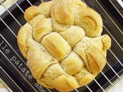 Pane intrecciato alle patate americane