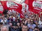 Sinistra sindacati piazza contro Jobs