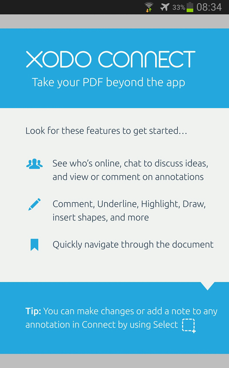 how to save an xodo pdf file