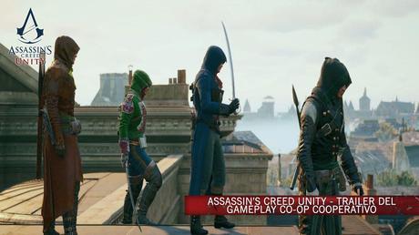 Assassin's Creed Unity - Trailer del gameplay per la modalità cooperativa