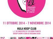 ROMA: PARADE group show cura Rossana Calbi HulaHoop Club