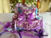 ❀❤︎Torta Violetta e....tantissimi fiocchi!❤︎❀