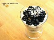 Coppa semi chia, more yogurt