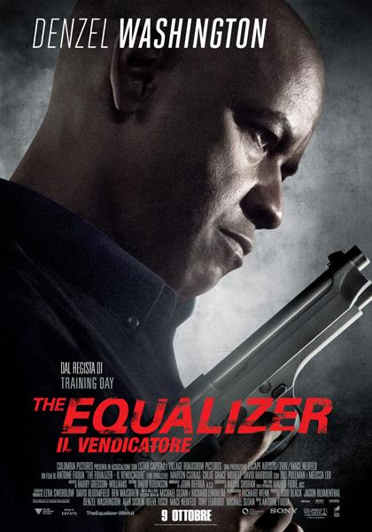 Locandina italiana The Equalizer - Il Vendicatore