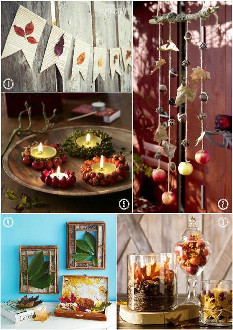 Autunno: Ispirazioni Home Decór + 4 Progetti DIY - Paperblog