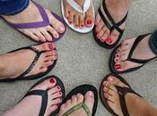 Uomini donne piedi sempre lunghi