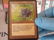 Magic Gathering, apre starter pack 1993 trova Black Lotus