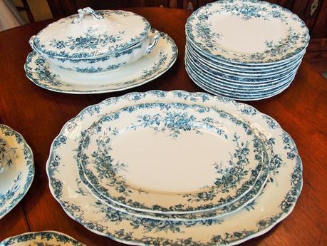 Servizio piatti porcellana antichi colonna porta lavatrice - Piatti da portata particolari ...