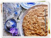 Torta dolce zucchine mandorle